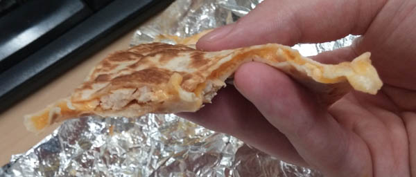 Shredded Chicken Mini Quesadilla