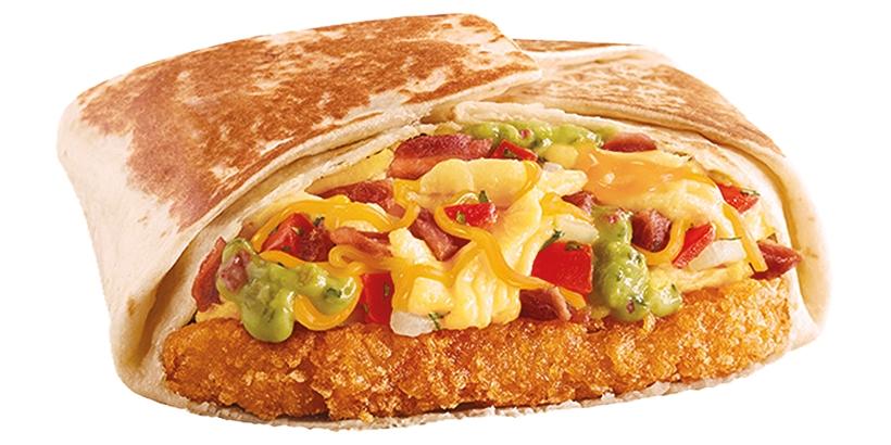 Taco Bell California AM Crunchwrap