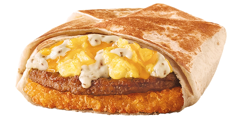 Taco Bell Country AM Crunchwrap