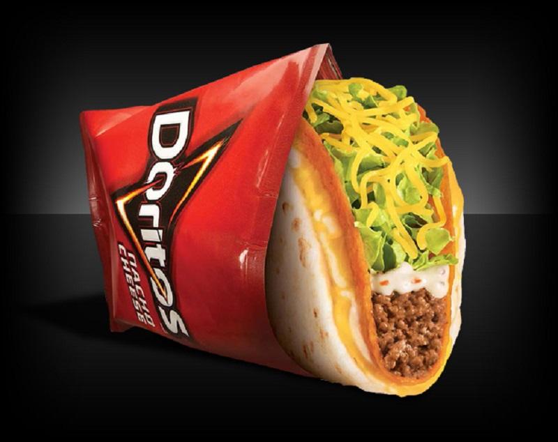 Taco Bell Doritos Cheesy Gordita Crunch