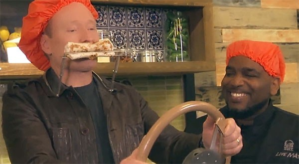 Conan O Brien Taco Bell Test Kitchen
