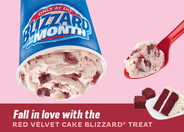 Dairy Queen February Blizzard Of The Month Fast Food Watch