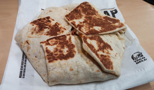 Taco Bell Nacho Wrap Review: Taco Be...
