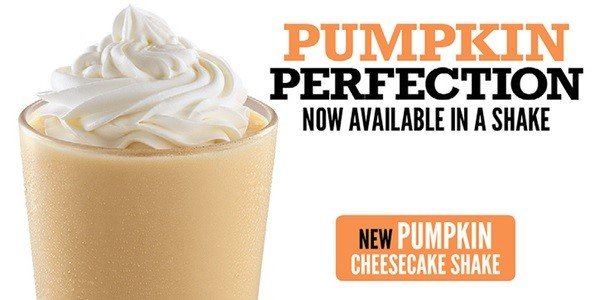Arby's Introduces Pumpkin Cheesecake Shake | Fast Food Watch