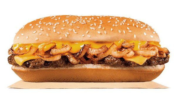 Burger King Introduces Extra Long Philly Cheeseburger