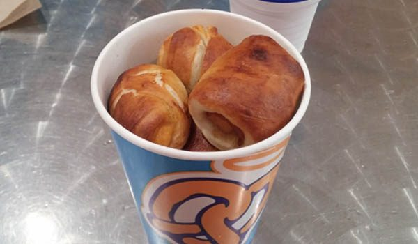 Review: Auntie Anne's Bacon Cheddar Stuffed Pretzel Nuggets